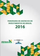 Renai lança Panorama de Anúncios de Investimentos no Brasil 2016